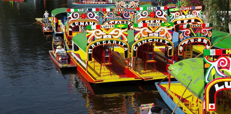 Barques de Xochimilco - Mexico