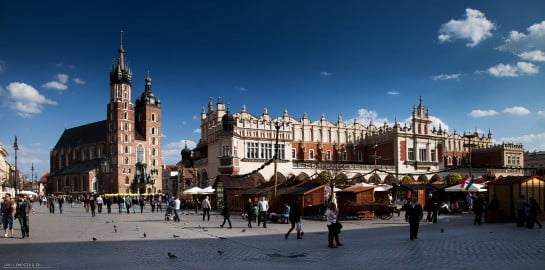 Place du Marché Cracovie