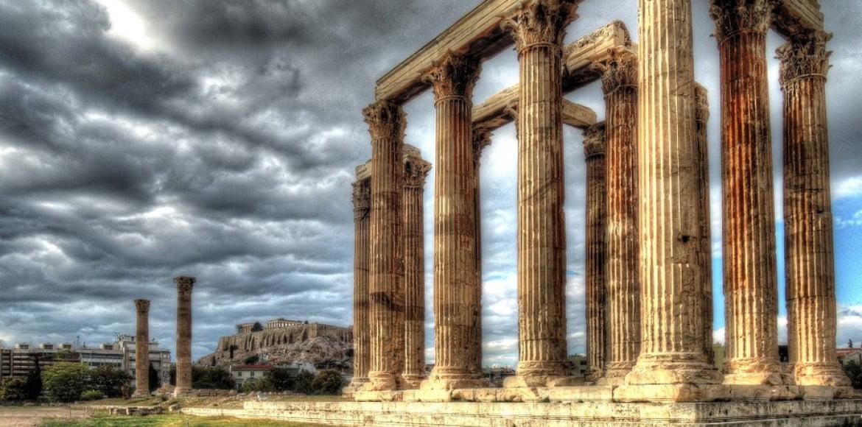 Temple de Zeus d'Athènes