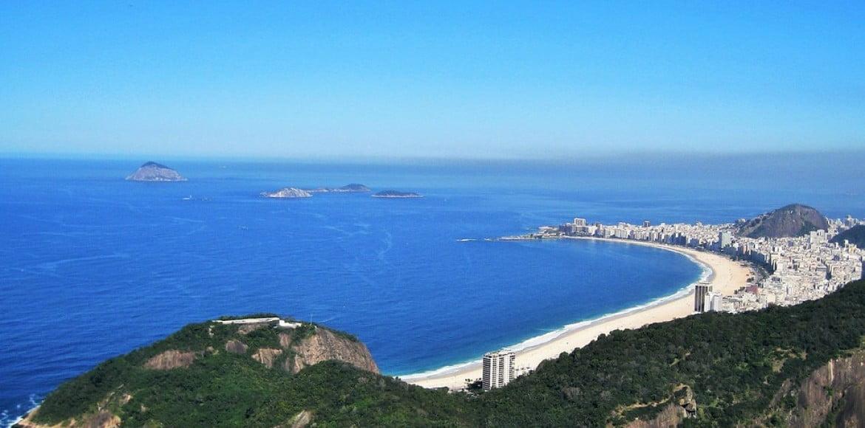 Vue sur Copacabana - Rio