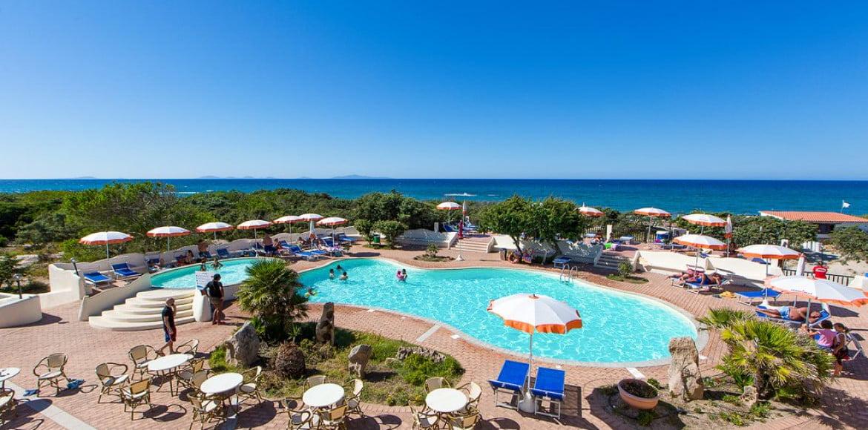 hotel club del golfo Piscine