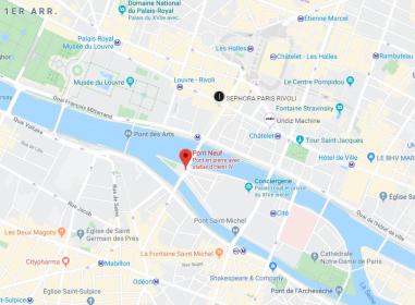 Plan - Les secrets des ponts de Paris